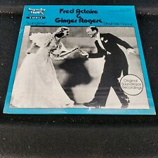 """Fred Astaire & Ginger Rogers """"Swingtime/Shall We Dance"""" Vinyl Record SEALED!"""
