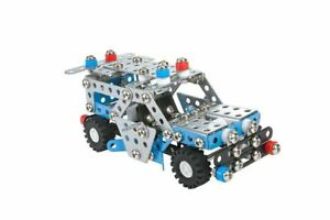 Construction Model Vehicle Toy Police Patrol Car DIY Build Your Own Kids Age 8+