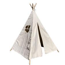 Tipi Zelt für Kinder Indianerzelt Kinder Baumwolle Kinderzimmer 120x120x160cm