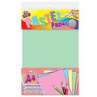 A4 Pastel Coloured Paper Art Craft 50 Sheets!