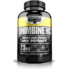 Primaforce YOHIMBINE HCL Fat Burner 90 Caps Yohimbe Sex Stimulant FRESH 11/18EXP