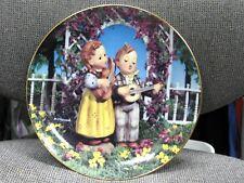 Hummel Little Companions Little Musicians Danbury Mint 1990 Collector Plate L.E.