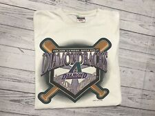 Vintage Arizona Diamondbacks T Shirt Mens Xl Large 1995 90s Vtg Mlb Logo 7