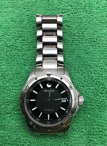 MOVADO Series 800 SUB-SEA 200M Men's Stainless Steel Wristwatch Swiss Made