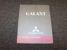 2008 Mitsubishi Galant Sedan Electrical Wiring Manual Supplement ES DE Ralliart
