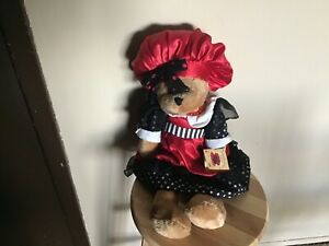 """CHANTILLY LANE MUSICALS~""""THAT' AMORE"""" PLUSH BEAR~SHE WORKS~WITH TAGS~VG CONDITIO"""
