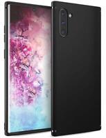 Handy Hülle für Samsung S9 S10 Note 10 20 Plus Matt Silikon Case Schutzhülle
