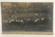 VTG 1910 Capturing The Colors University Of Illinois Color Rush RPPC Postcard