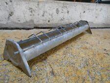 Vintage french zinc tole feeder, kitchen herbal Planter