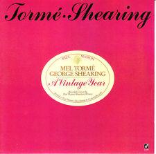 Mel Tormé, George Shearing – A Vintage Year CD 1988