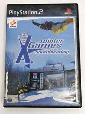 ESPN Winter X-Games Snowboarding Sony Playstation 2 ps2 Spiel Kostenlose p&p