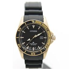 Citizen Eco Drive BN0104-09E ProMaster Men Divers Rubber With Date Analog Watch