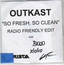 (CO792) Outkast, So Fresh So Clean - DJ CD