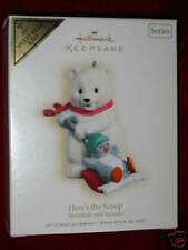 Hallmark Ornament KOC Club 2007 Here's the Scoop #7 Snowball and Tuxedo Colorway