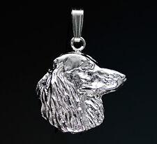 Pendentif Chien TECKEL Poil Long -  Pendant DASCHUND DOG