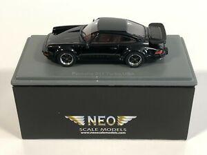 NEO SCALE MODELS 43255 Porsche 911 Turbo USA Noir 1/43 Miniature Collection
