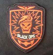 CALL OF DUTY PS3 XBOX SOG SEALS AIRSOFT COMBAT BADGE BLACK OPS RED HOOK PATCH