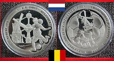 Fußball MEDAILLE EM EC UEFA EUROPEAN CHAMPIONSHIP NIEDERLANDE + BELGIEN 2000