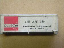 Gewindeplatten von STS, 12E A55 P30, aus dem  Quad Cut System