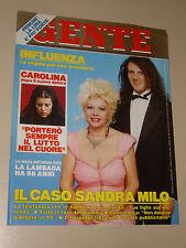 GENTE 1990/3=SANDRA MILO=MASSIMO DE TERLIZI LAMBADA=SALVO RANDONE=PETER SECCHIA=