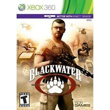 Pal version Microsoft Xbox 360 Blackwater