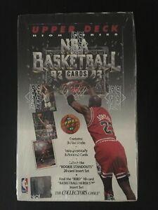 1992-93 Upper Deck High Series Basketball Box Factory Sealed  ~EMERALDCARDS~