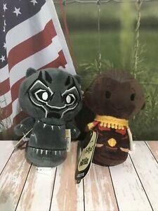 Plush Toy Itty Bittys Hallmark NWT Marvel Black Panther & Okoye Special Edition