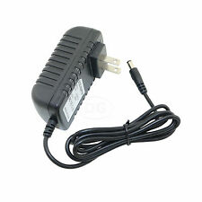 AC/DC Adapter Power Cord for Casio WK-3000 PX-100 WK-1630 WK-500 Midi Keyboard