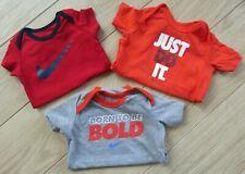Nike Baby Boy Vests   Bodysuits Bundle 3-6 MONTHS Months 3 X VESTS EXCELLENT CON