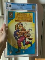 Archer & Armstrong 0 Gold Variant. CGC 9.8. White Pages. Archer and Armstrong 0