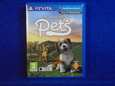 PS VITA PLAYSTATION VITA PETS (CC) A Virtual Pet Simulation Game PAL UK PSVITA