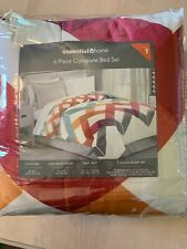 Essential Home 6 Piece Complete Bed Set