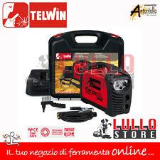 SALDATRICE INVERTER TELWIN FORCE 145 ELETTRODO 230V  KIT + ACCESSORI + VALIGIA