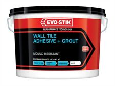 Mould Resistant Wall Tile Adhesive & Grout 500ml - Tiling Tools  - EVO416505