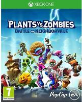 PLANTS VS ZOMBIES: BATTLE FOR NEIGHBORVILLE - XBOX ONE - NEW & SEALED