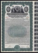 1927 Deutsche Landesbankenzentrale Aktiengesellschaft - $1000 Gold Bond