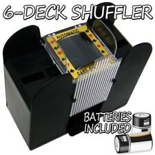 Brybelly Holdings GSHU-003.Free-10 6 Deck Playing Card Shuffler with Batteries