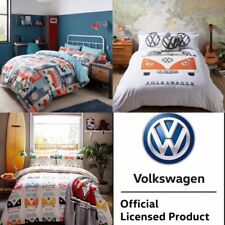 VW Campervan Official Bedding - Block Print, Multi or Orange Campervan Bedding