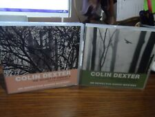 Colin Dexter Audio books x 2  3 CD Inspector Morse (way through the woods/secret