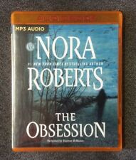 THE OBSESSION by NORA ROBERTS - UNABRIDGED AUDIO - MP3 CD