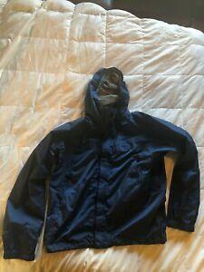 Marmot Blue Shell Jacket Nylon Large