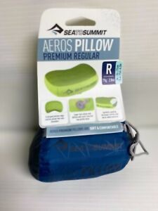 Sea To Summit Aeros Pillow Regular Brand New Let's Go Camping! Navy Blue