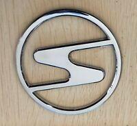 PREMIUM 3D Trabant Emblem Chrom Sachsenring Haubenemblem Logo Typenschild DDR