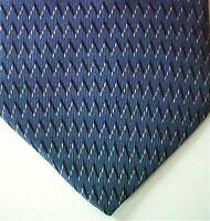"Nautica Men's Silk Geometric Neck Tie Blue Multi Wide 3 7/8"" x 59"""