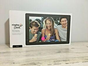 Nixplay n Seed 10 Inch Widescreen WiFi Cloud Digital Photo Frame Alexa enabled