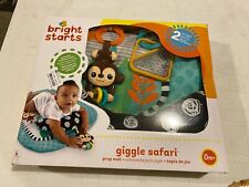Bright Starts Giggle Safari Prop Mat/Colorful/Animals/Moto r Skills/Prop