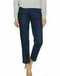 Tommy Hilfiger women's trousers ISHA TI RW ANKLE orange, navy blue