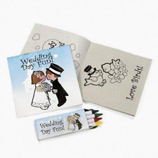 New  Individually Packaged Children's Wedding Activity Sets w/ Non toxic Crayons