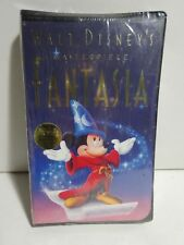Walt Disney's Masterpiece Fantasia VHS cassette movie 1991 Mickey Mouse 120 min.