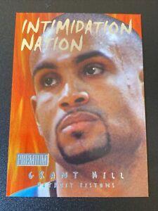1998-99 SkyBox Premium Intimidation Nation GRANT HILL MINT